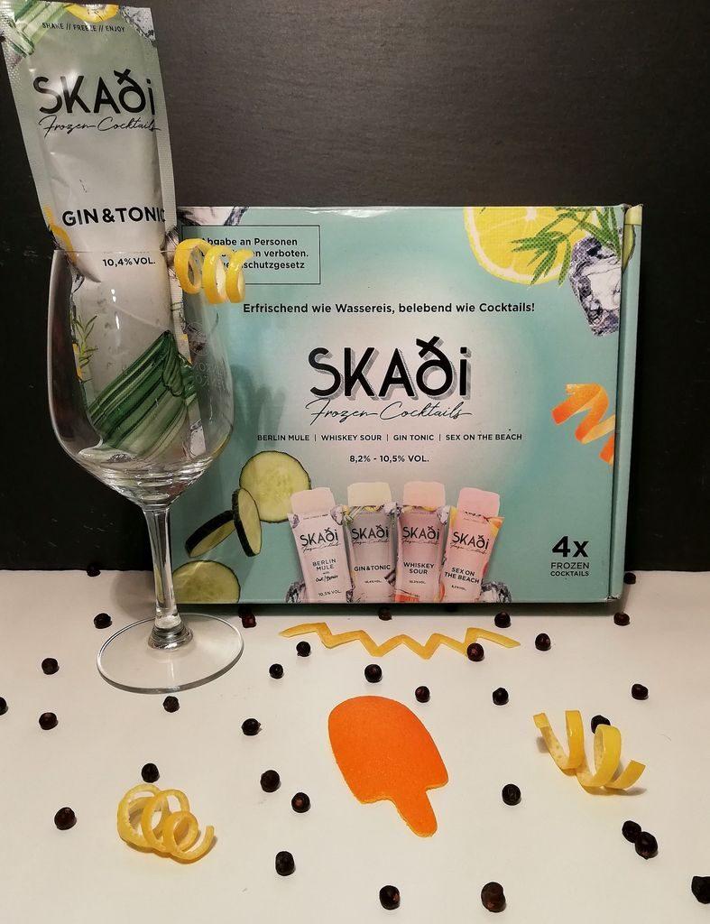 Skadi Gin&Tonic Wassereis Flatlay