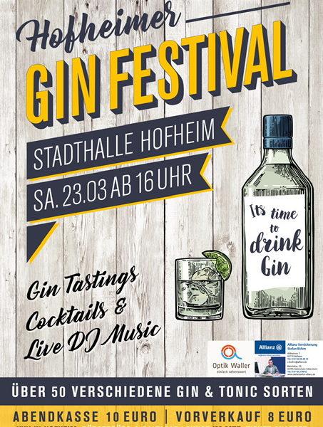 Hofheimer Gin Festival